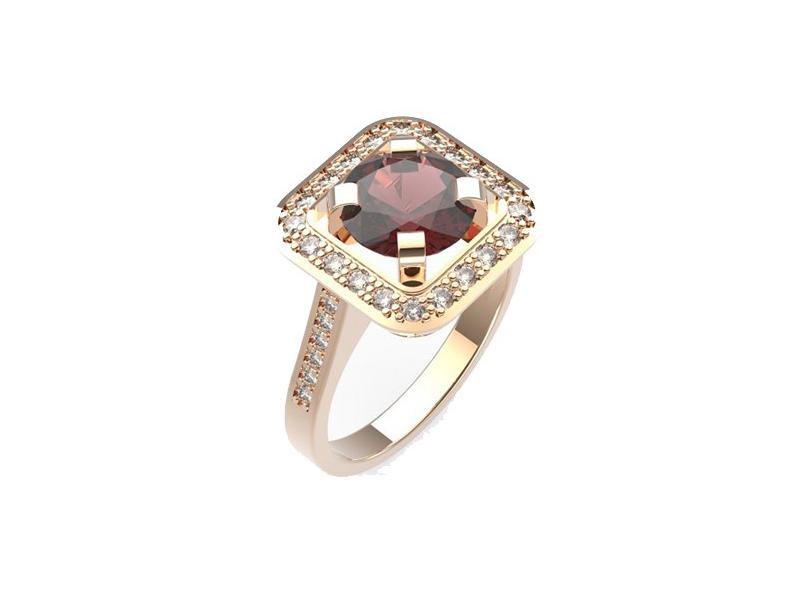 Gemmyo Anastasia Ring ~ 1'615 Euros
