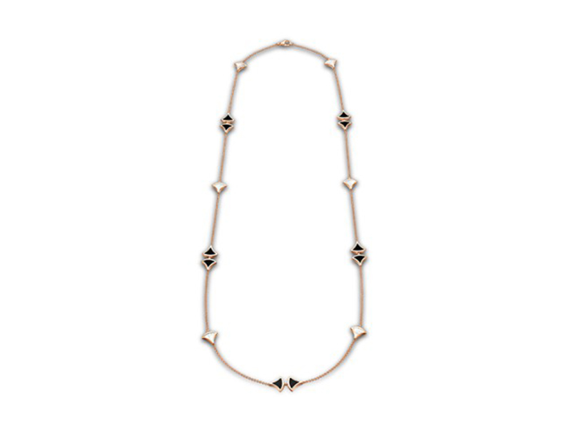 Bulgari From Divas dream collection - Rose gold with mother of pearl and black onyx, ~ USD$ 11'900
