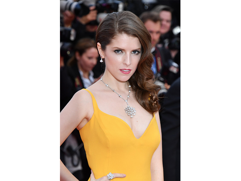 Bulgari Anna Kendrick wore Divas' Dream jewelry set