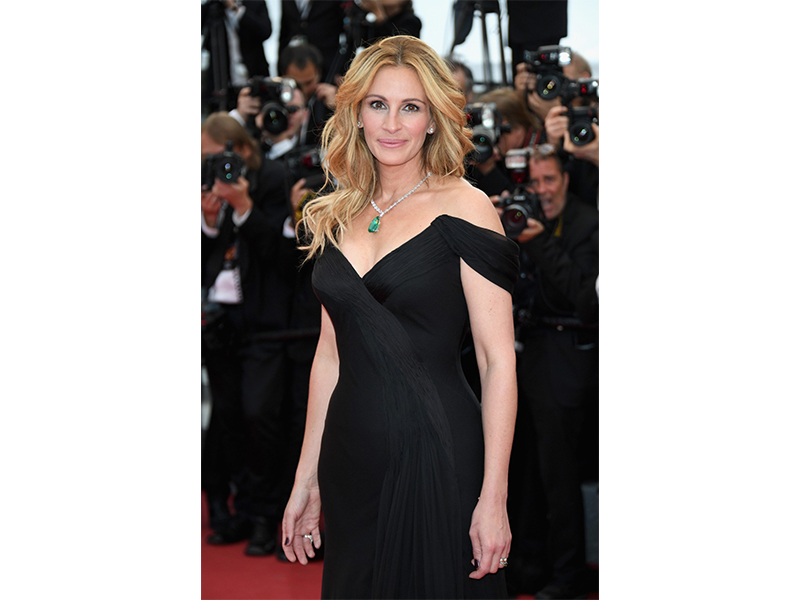 Chopard Julia Roberts wore Chopard jewelry.