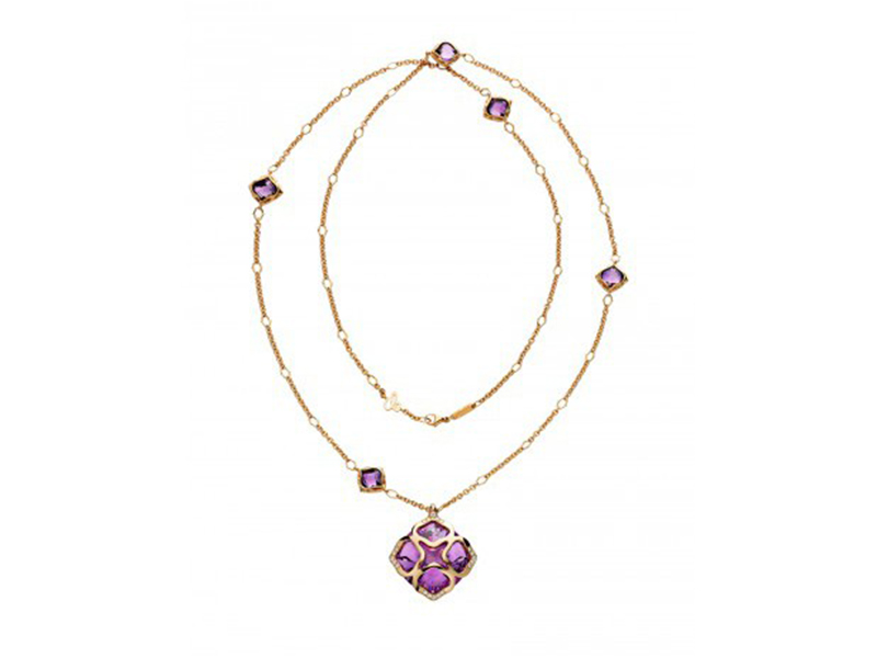 Chopard From Imperiale cocktail collection - Rose gold with amethyst and diamonds