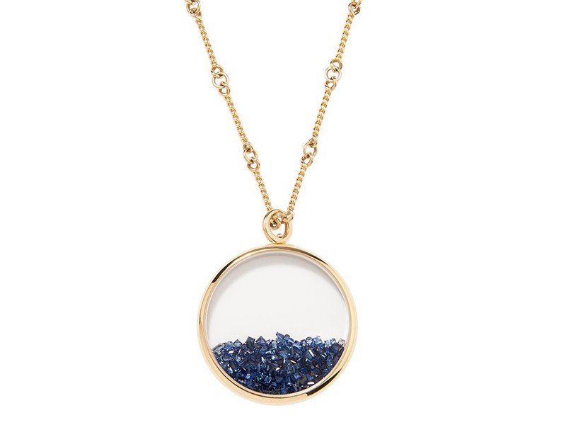 Aurelie Bidermann Chivor sapphire necklace mounted on yellow gold ~ 6'075 Euros