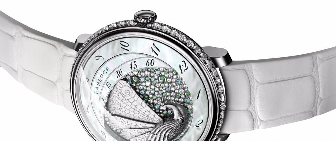 Fabergé Lady Compliquée Peacock white