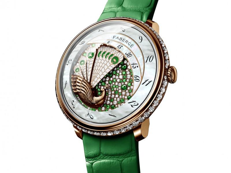 Fabergé Lady Compliquée Peacock green