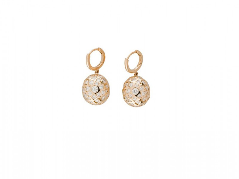 Aude Lechere These earrings from Oursin collection are available at the Pop Up - CHF 12'025