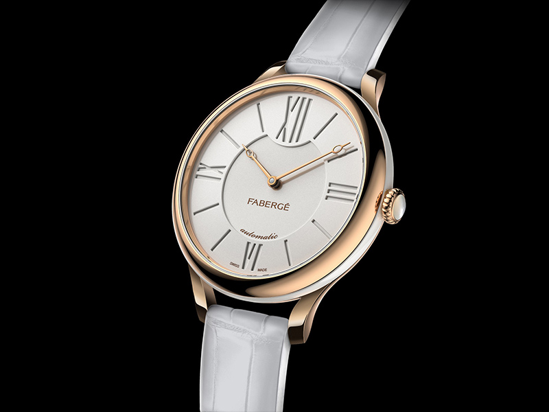 The Lady Fabergé watch gold dial