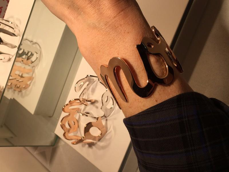 Farah Monfaradi bracelet