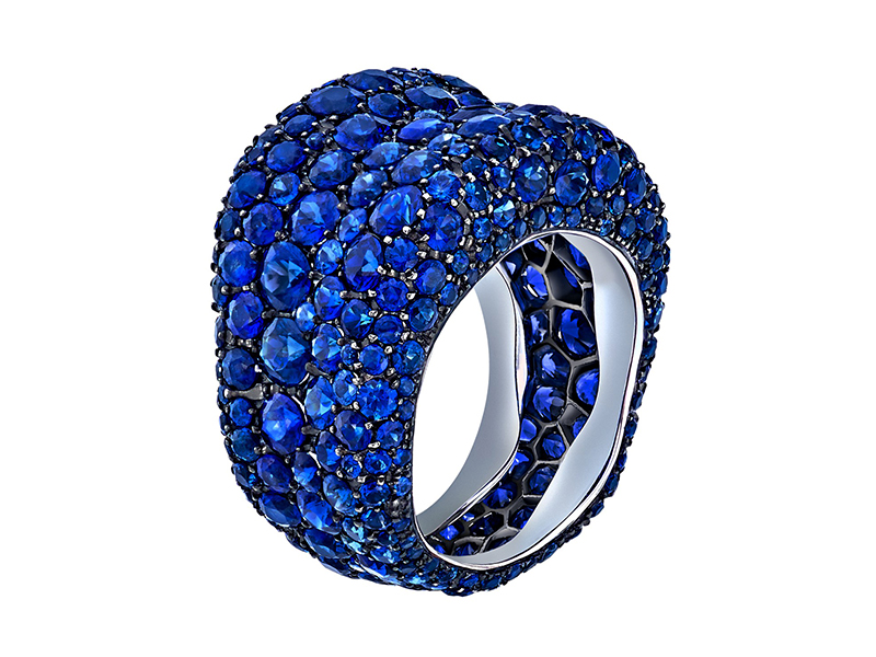 Fabergé From Emotion collection - Blue Sapphire Ring