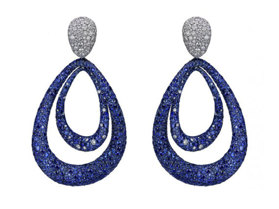 Jacob & Co. Earrings from the titanium Glam Collection