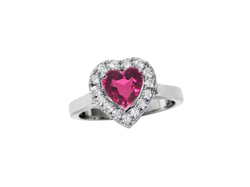 Vanessa Martinelli Rainbow Heart Ring