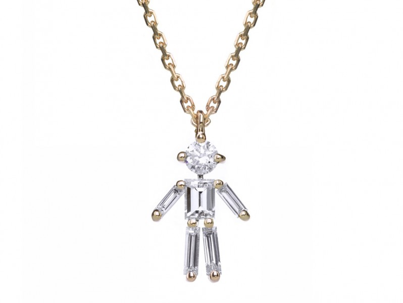 Little Ones Little One Paris Boy on rose gold CHF 1'700.-