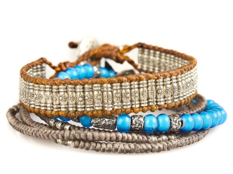 M.Cohen Traveler stack bracelets, ~ USD$ 420