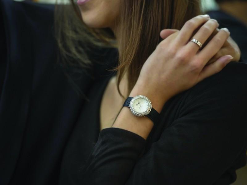 My préférée Poiray black watch