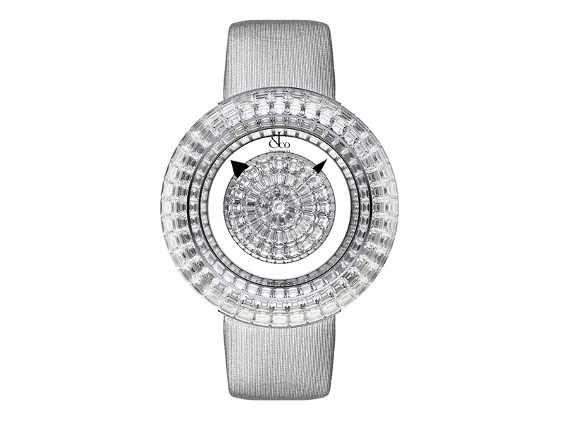 Jacob & Co Brilliant Mystery Baguette White Diamonds