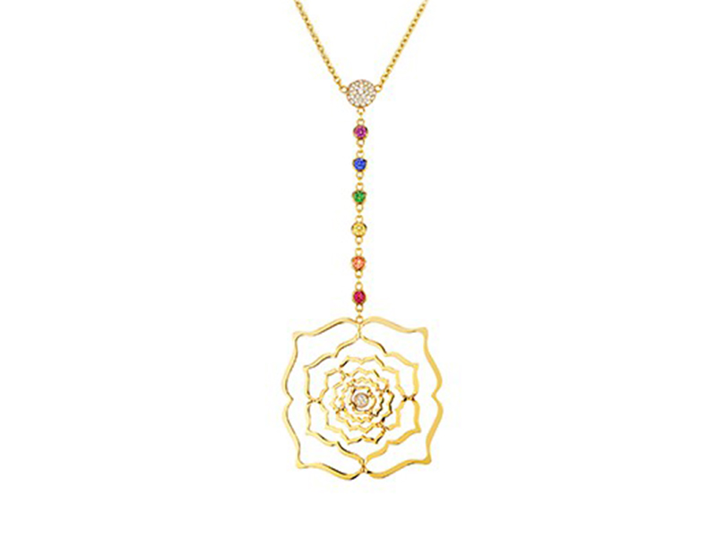 Caspita Chakra Collection pendant gold
