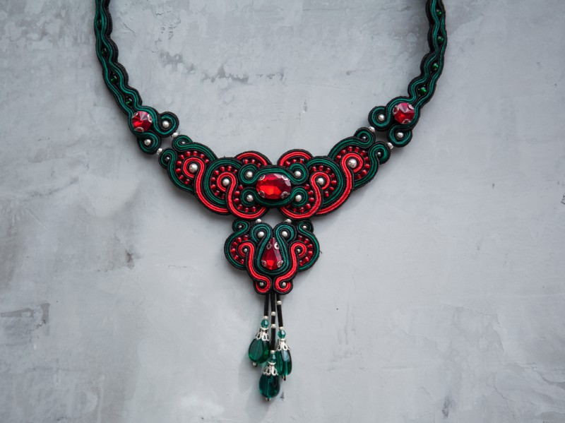 Nowness Firebird-in-Red - Crystal necklace is available at the Pop-Up, CHF 311