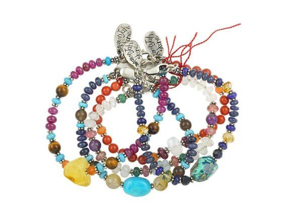 Aaron Jah Stone Zodiac bracelets