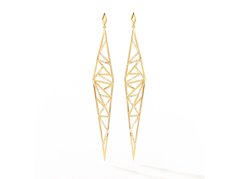 Plukka jewelry earrings gold