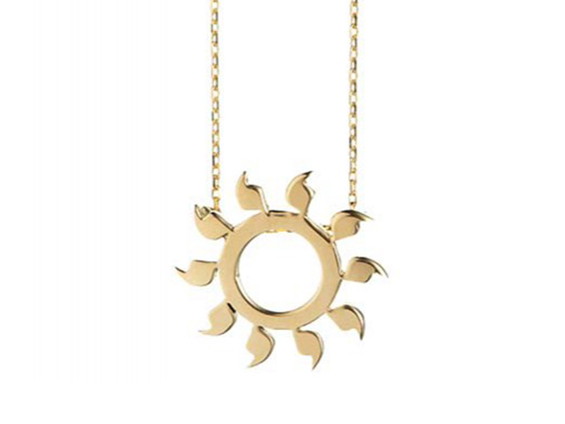 Rivka Nahmias You are my sunshine necklace is waiting for you at the Pop up - CHF 970