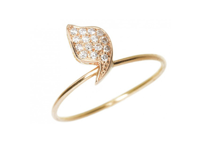 Rivka Nahmias This Eloise ring is available at the Pop up in yellow and white gold - CHF 1'963