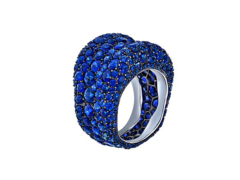 Fabergé Sapphire Emotion ring