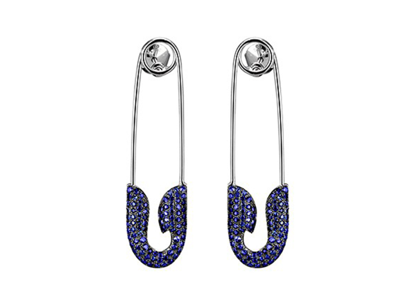 Jacob & Co. Safety Pins Earrings