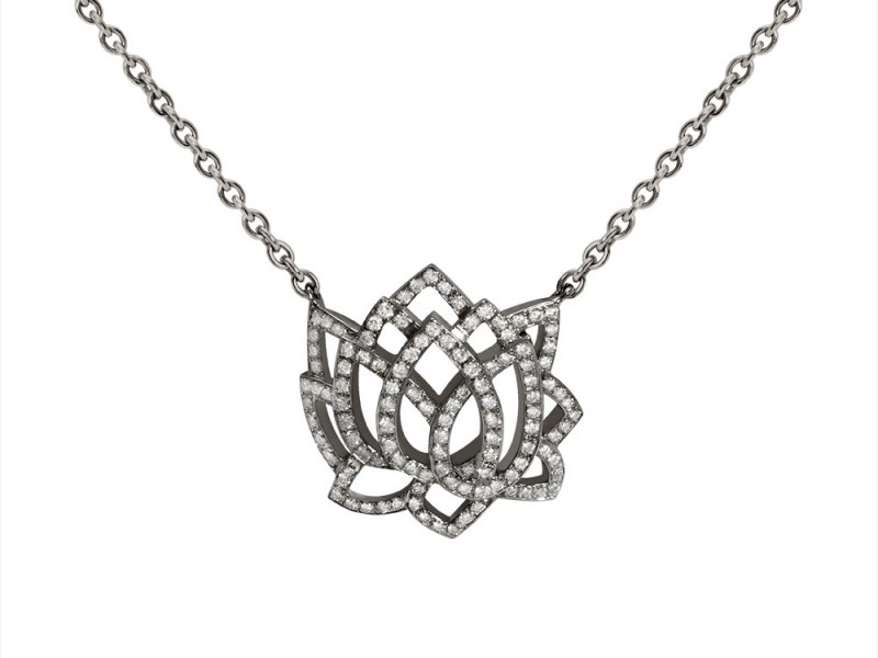 Sophie M Paris Eveil Collection - White Gold pendant set with diamonds