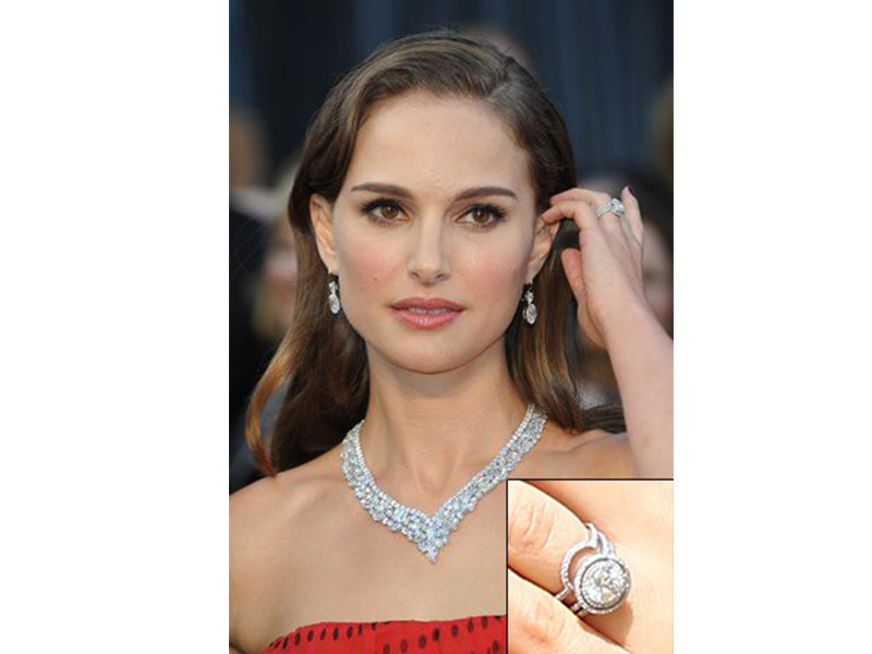 Jamie Wolf Natalie portman and benjamin Millepied - Conflict-free diamond engagement ring mounted on recycled platinum