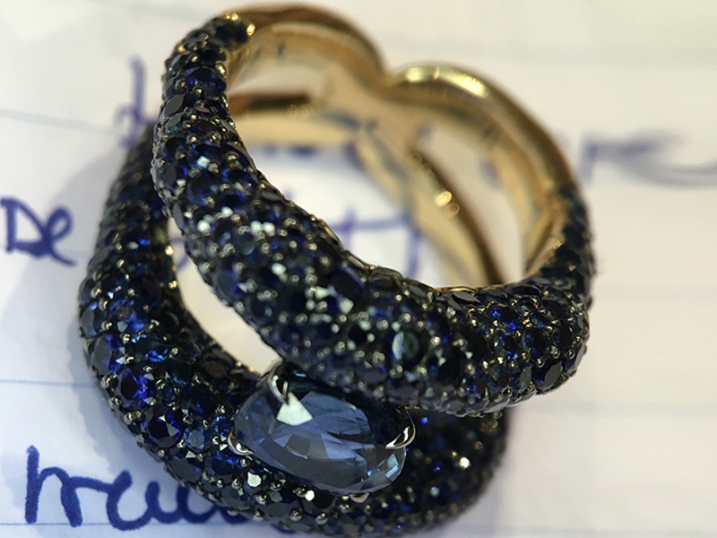 Fabergé From Emotion collection - Sapphire