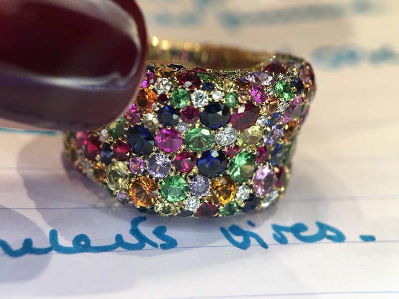 Fabergé From Emotion collection - Multi-coloured ring