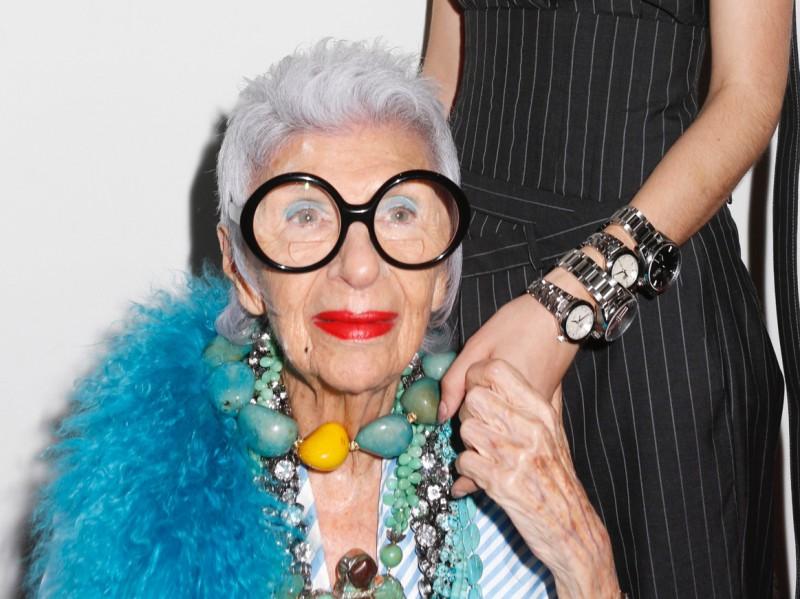 Tag Heuer Fashion-icon, Iris Apfel