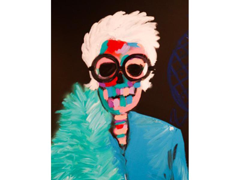 Tag Heuer Iris Apfel's paint