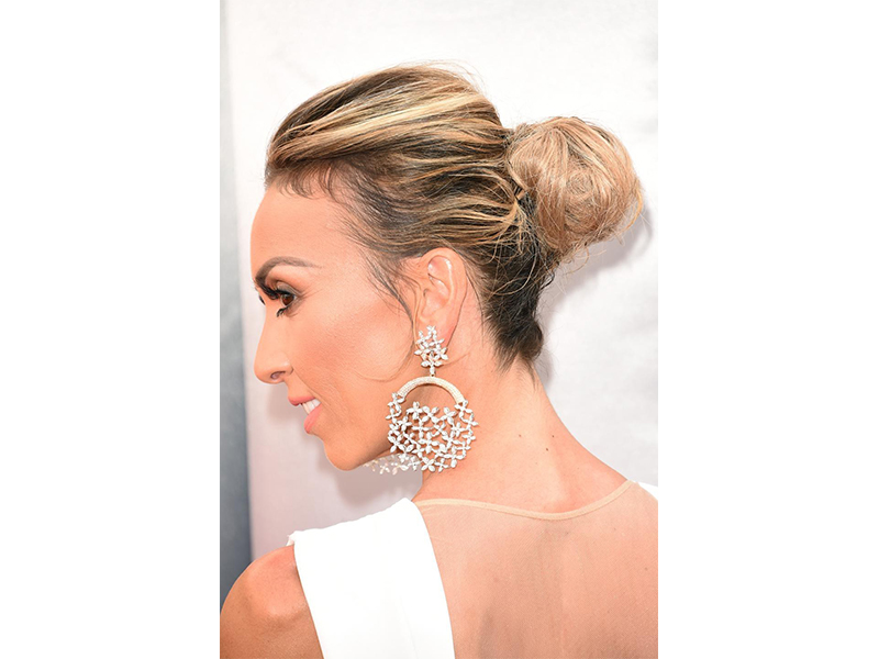 Forevermark Giuliana Rancic wore diamond earrings at the Oscars 2016