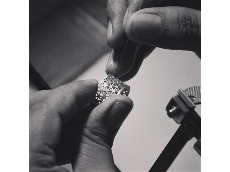 Atelier Molinari Workshop jewelry ring