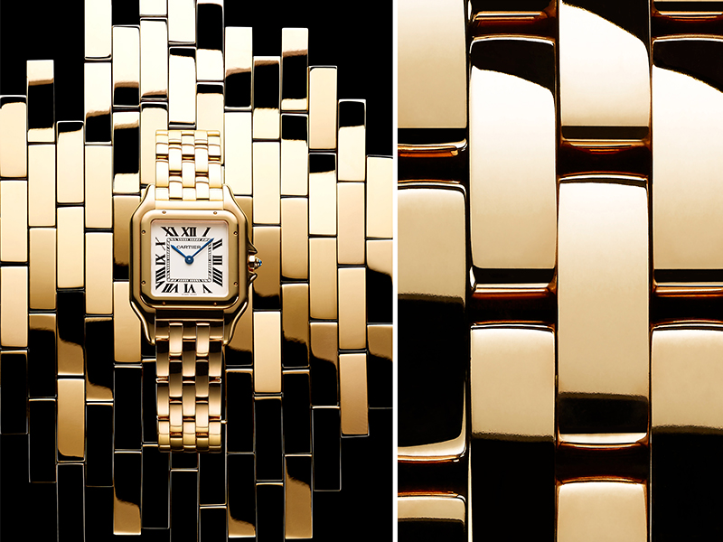 Cartier Modern Panthère launched during SIHH 2017 in yellow gold
