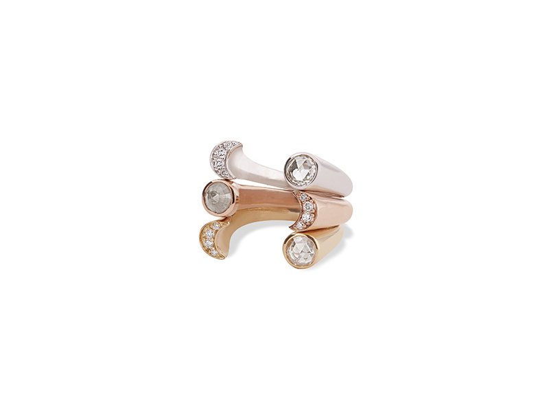 Pamela Love Open Luna rings, from ~ USD$ 2'000