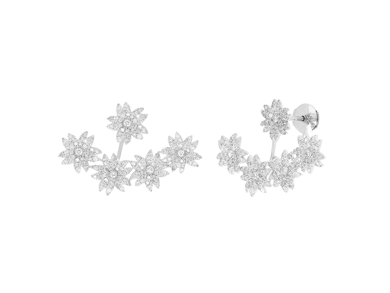 Yvonne Leon Flower earrings