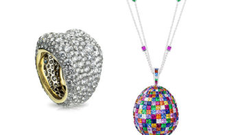 When modern is the new classic : Fabergé style !