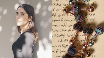 A talk with Begüm Khan… a woman who designs jewelry for a man better than he ever would for himself!
