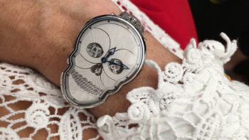 The Best Halloween Timepiece: the Petit Skull by Fiona Kruger