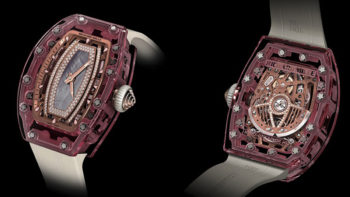 One Million-Dollar Baby: The RM07-02 Pink Lady Sapphire Watch