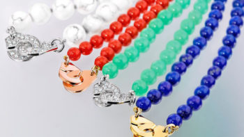 Dinh Van is surfing the summer wave of colors with the new Menotte Necklace