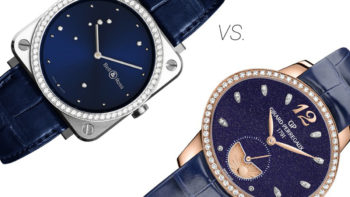 The Blue Dial Battle between GP's Cat's Eye & BR Diamond Eagle