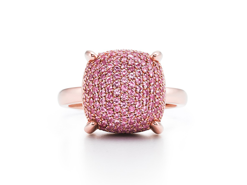 Tiffany & Co. Paloma's Sugar Stacks Ring diamonds rose gold