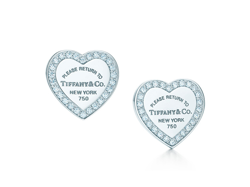 Tiffany & Co. Love Earrings diamonds