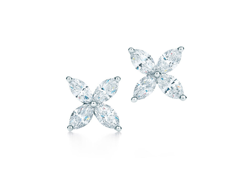 TIFFANY VICTORIA Earrings Tiffany & Co. diamond white gold