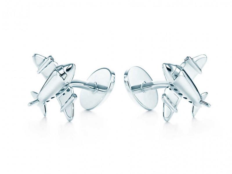 Tiffany & Co Airplane cufflinks in sterling silver, ~ 390 Euros