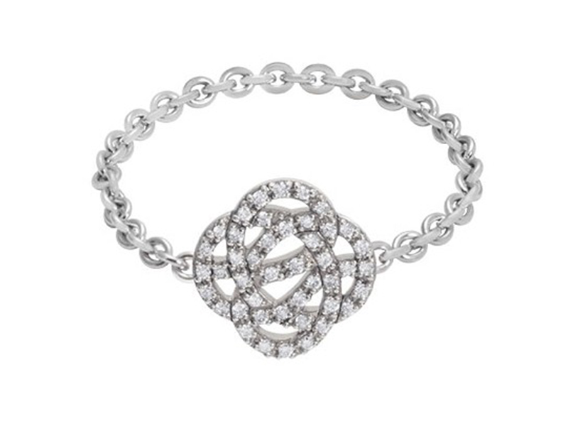 Sophie M From Infini collection - White gold with diamonds