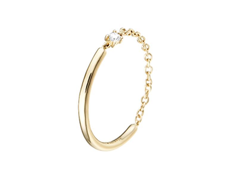 Ofée Happy ring yellow gold, ~ 490 Euros