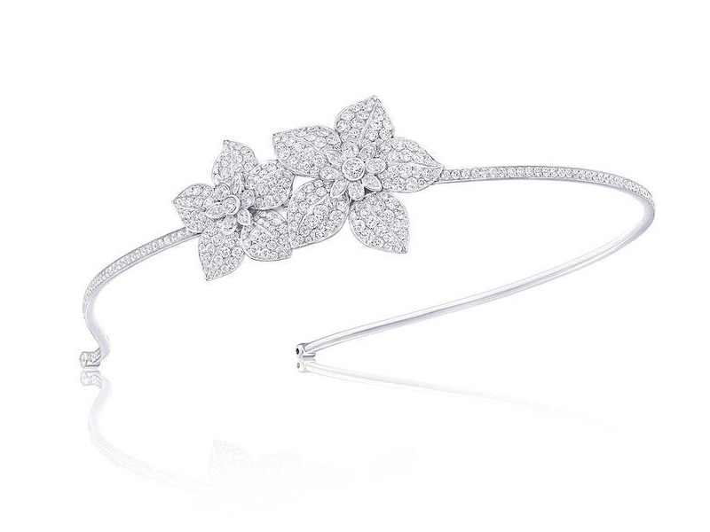 Graff Graff Diamonds flower motif Alice band